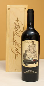 Carroll Shelby 50th Anniversary Wine - 2010 Zinfandel